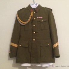 Militaria: UNIFORME DE SARGENTO DE INFANTERIA DE LAS MILICIAS UNIVERSITARIAS. Lote 43915076