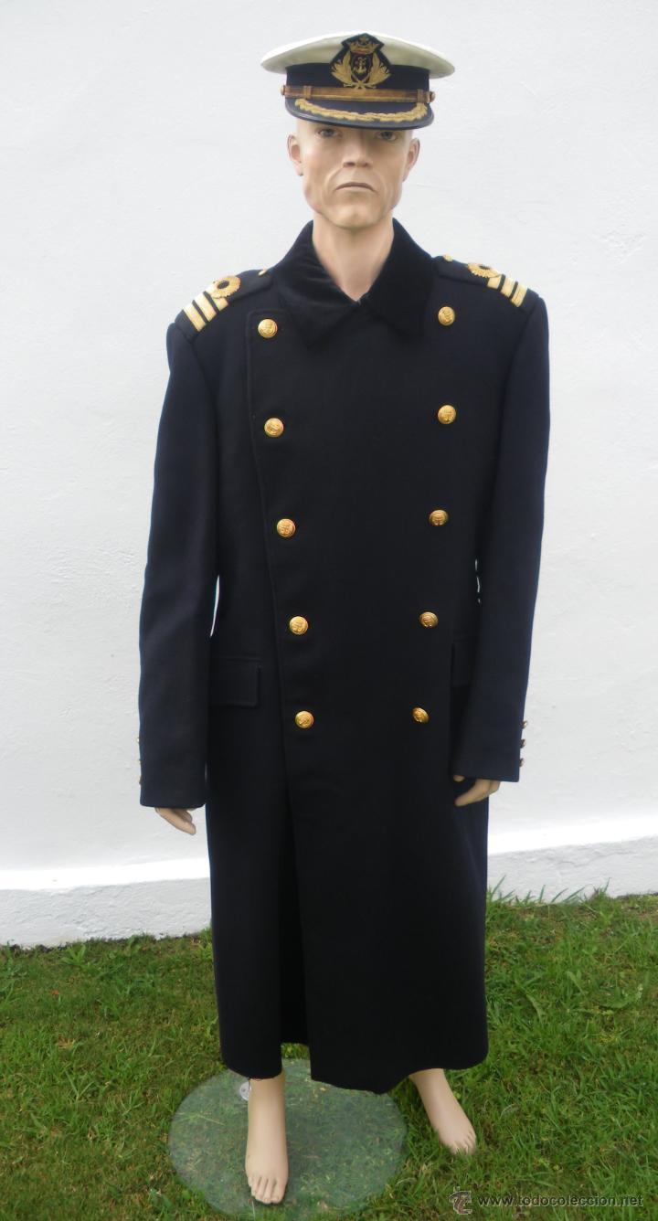 Abrigo Ruso De La Armada Espa 241 Ola Con Galones D Comprar