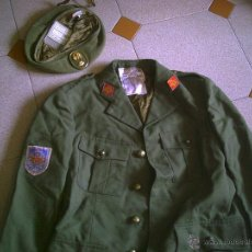 Militaria: UNIFORME MILITAR ESPAÑOL DE INFANTERÍA + BOINA, DE LOS AÑOS 70/80. Lote 44241614