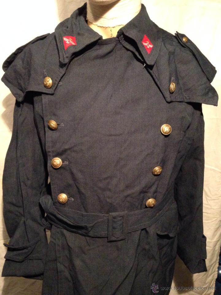 Militaria: CHAQUETÓN 3/4 DE PASEO. EJÉRCITO DEL AIRE. Año 70. - Foto 2 - 44443887