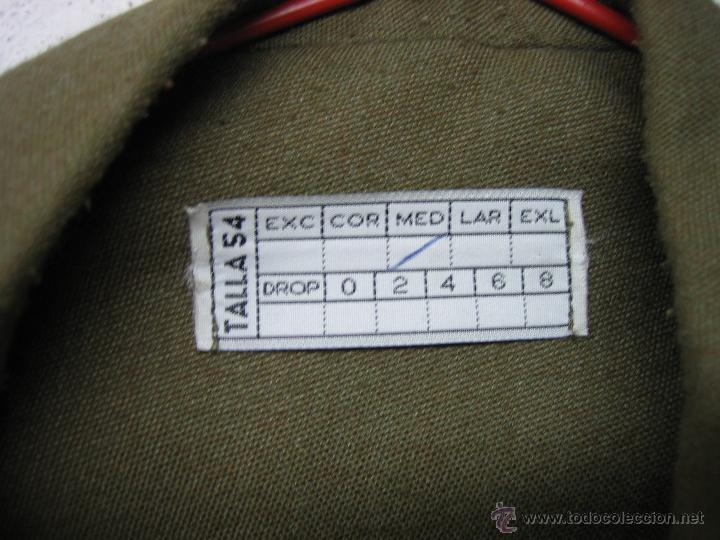 Militaria: Uniforme ejército Español. Ejército de Tierra. Guerrera corta - Foto 9 - 39944341