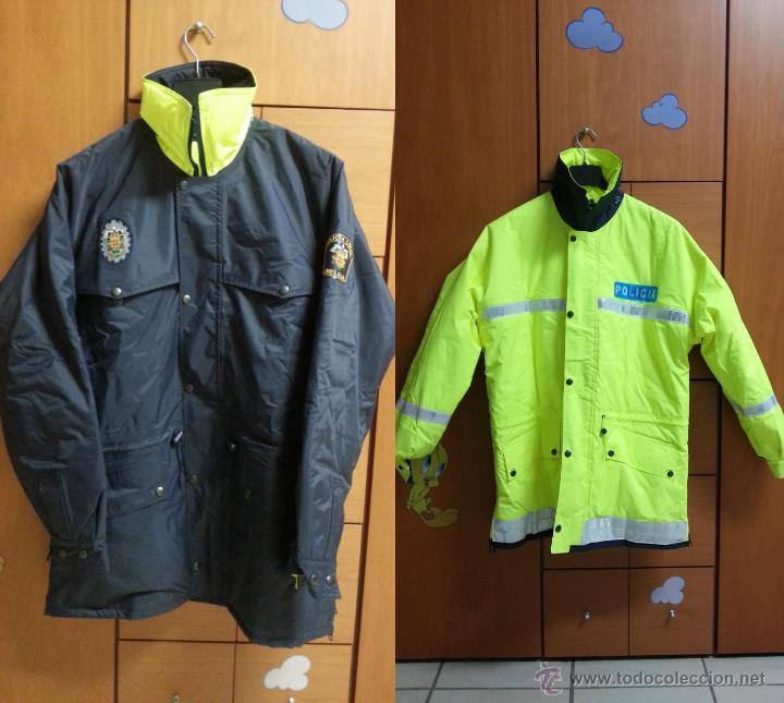 Uniforme policia. anorak reversible policia loc - Sold through ... b07d8c4226b