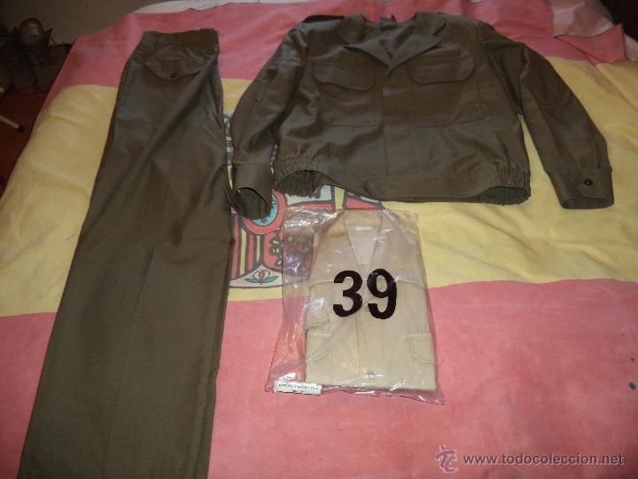 UNIFORME DE TRABAJO CUADRO DE MANDOS -HOMBRE (3PIEZAS) MEDIDAS EN EL ANUNCIO (Militar - Uniformes Españoles )