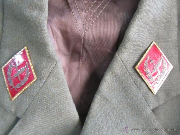 Militaria: Antiguo traje militar: chaqueta + pantalón - Foto 4 - 47048185