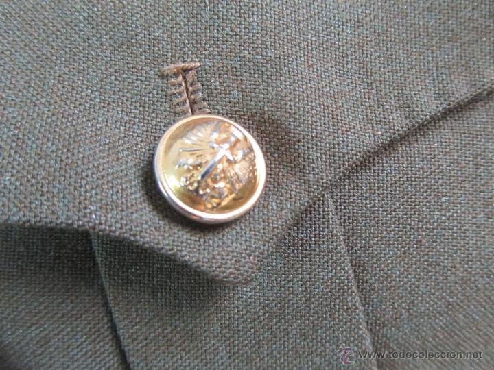 Militaria: Antiguo traje militar: chaqueta + pantalón - Foto 7 - 47048185