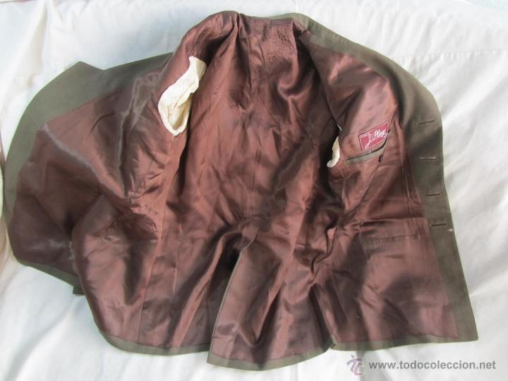 Militaria: Antiguo traje militar: chaqueta + pantalón - Foto 8 - 47048185