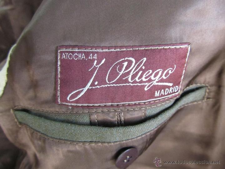 Militaria: Antiguo traje militar: chaqueta + pantalón - Foto 9 - 47048185