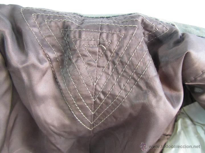 Militaria: Antiguo traje militar: chaqueta + pantalón - Foto 11 - 47048185