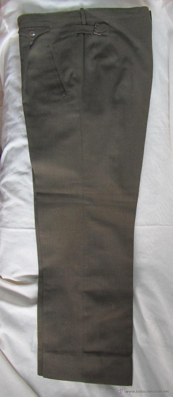 Militaria: Antiguo traje militar: chaqueta + pantalón - Foto 12 - 47048185