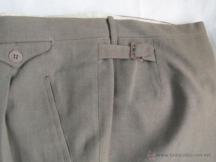 Militaria: Antiguo traje militar: chaqueta + pantalón - Foto 13 - 47048185