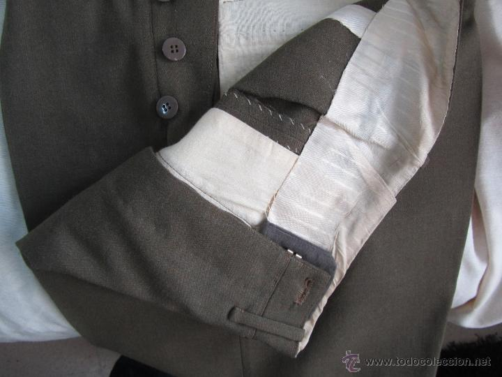 Militaria: Antiguo traje militar: chaqueta + pantalón - Foto 14 - 47048185