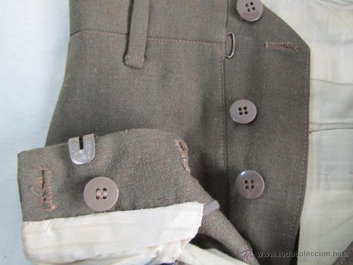 Militaria: Antiguo traje militar: chaqueta + pantalón - Foto 16 - 47048185