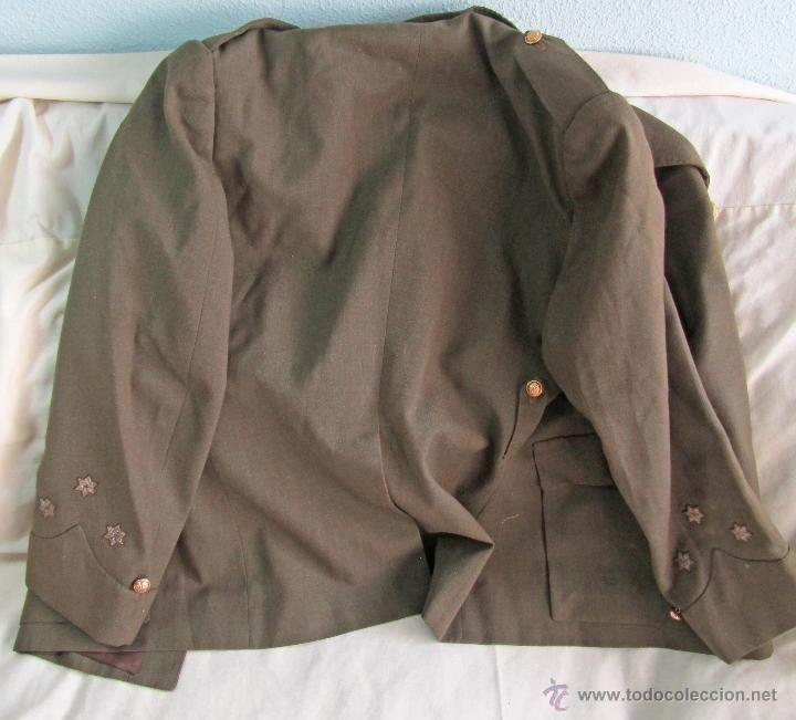 Militaria: Antiguo traje militar: chaqueta + pantalón - Foto 17 - 47048185