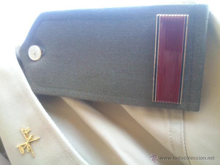 Militaria: CAMISA TRAJE DE BONITO,CON GALONES E INSIGNIAS.TALLA;40. - Foto 3 - 212375360