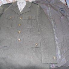 Militaria - UNIFORME MILITAR. EJÉRCITO ESPAÑOL. AÑOS 90. GUERRERA CAMISA Y CUBERTAJE. PASEO - 48761279