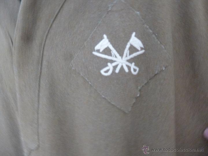 Militaria: capote manta ..guerra civil.. caballeria..todo original epoca. - Foto 4 - 49397811