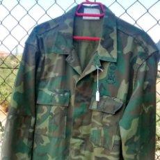 Militaria: CAMISOLA DE 4 BOLSILLOS DE INFANTERÍA DE MARINA, 56 CM DE HOMBRO A HOMBRO. Lote 50421756