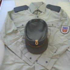 Militaria: LOTE GUARDIA CIVIL : CAMISA , TERESIANA Y PARCHE DE LA PROVINCIA DE CADIZ. Lote 50729733
