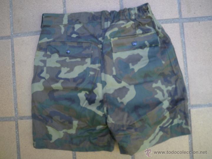 Militaria: Pantalón corto camuflaje boscoco. - Foto 4 - 51422288