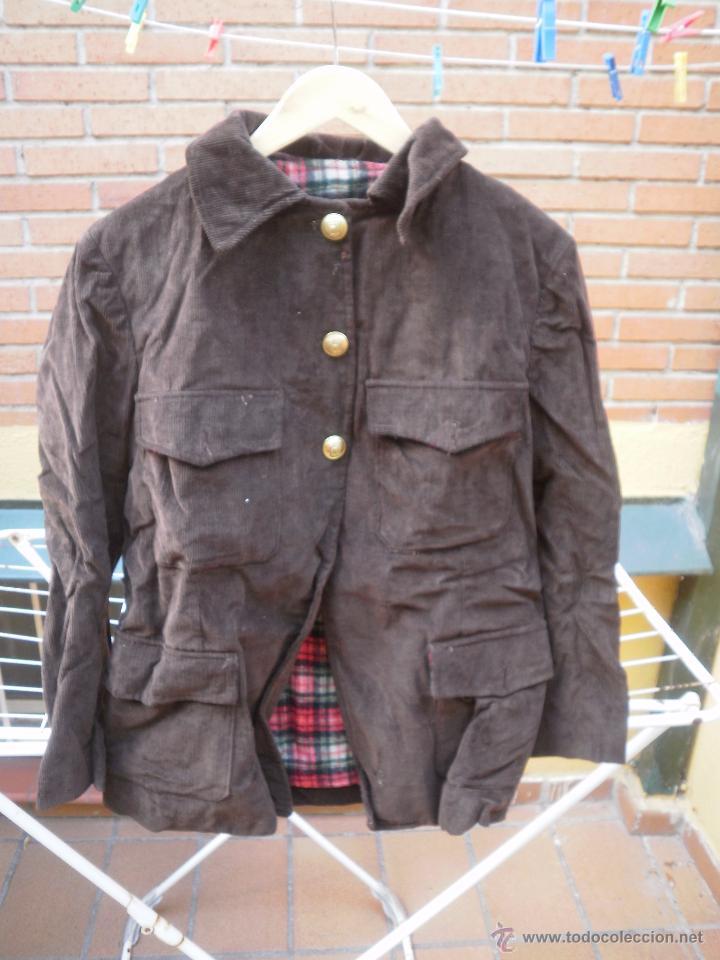 Militaria: Chaqueta de pana. Guardias Jurados Parques de Madrid - Foto 2 - 51580836