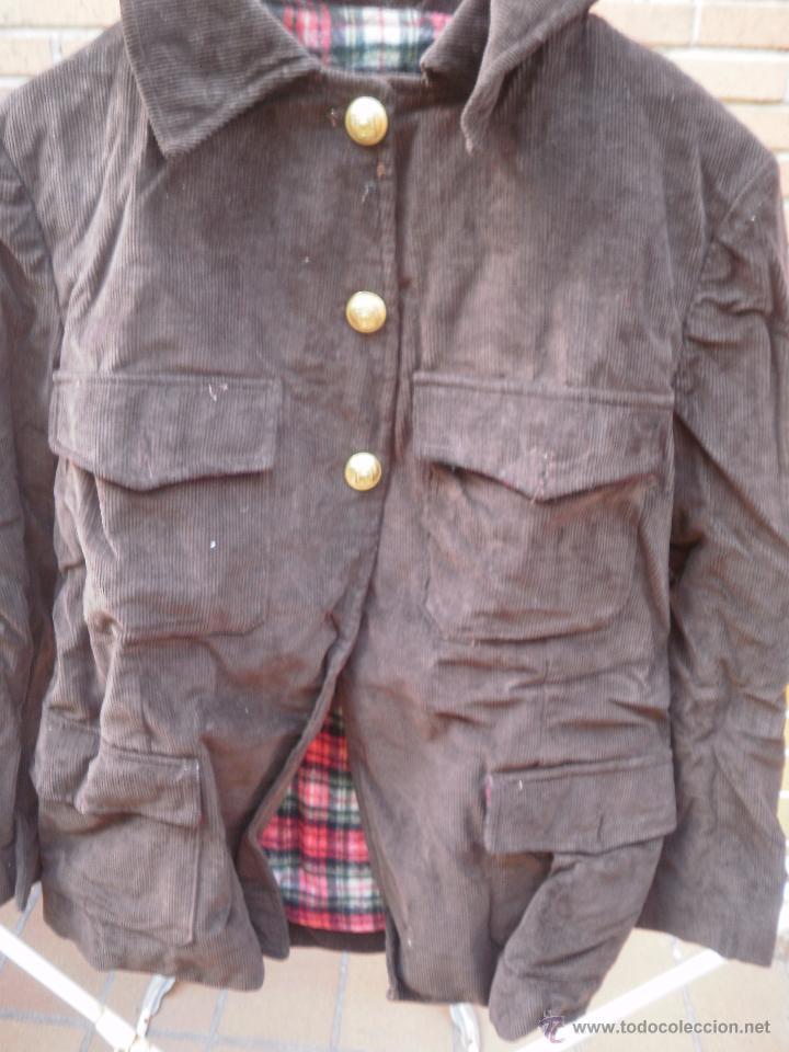 Militaria: Chaqueta de pana. Guardias Jurados Parques de Madrid - Foto 3 - 51580836