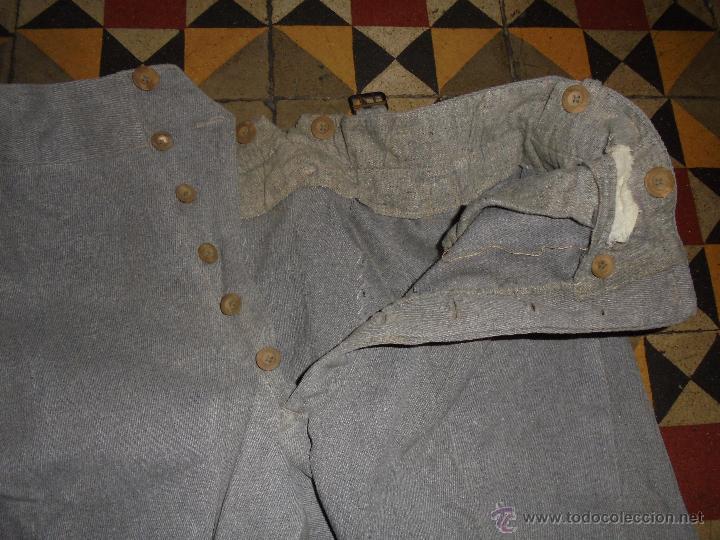 Militaria: GUERRA CIVIL - ANTIGUA CHAQUETA + 2 PANTALONES DEL EJERCITO REPUBLICANO - TODO ORIGINAL . - Foto 13 - 52413628