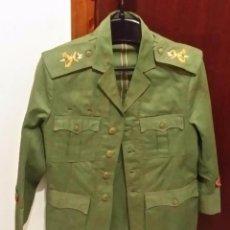 Militaria: GUERRERA, CHAPIRI CABO LEGION , EMBLEMA HOMBRERA, EPOCA SAHARA, BOTONES CON EMBLEMA. Lote 178744837