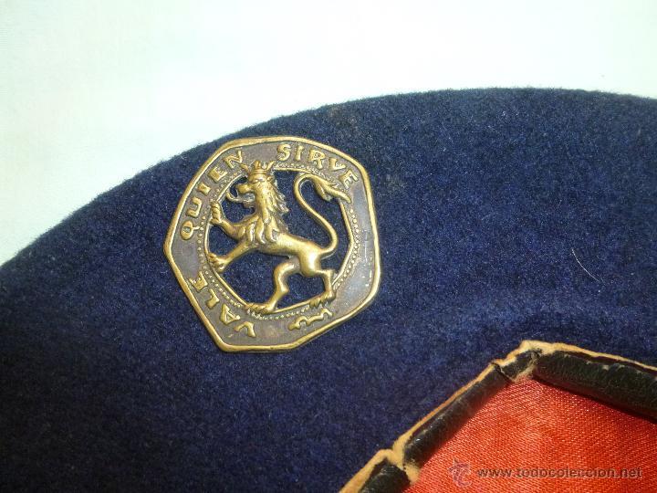 Militaria: uniforme o.j.e....camisa y boina.organizacion juvenil española... - Foto 4 - 52748013