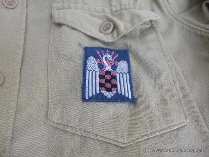 Militaria: uniforme o.j.e....camisa y boina.organizacion juvenil española... - Foto 7 - 52748013