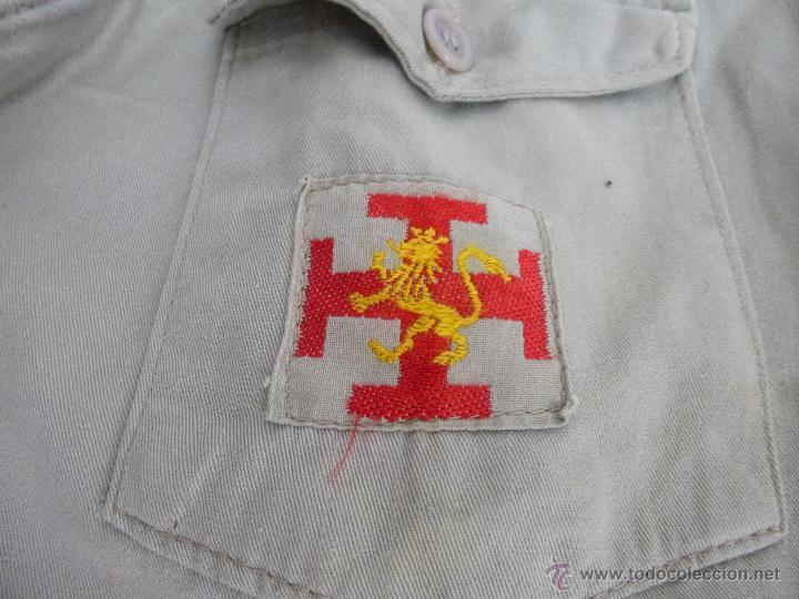 Militaria: uniforme o.j.e....camisa y boina.organizacion juvenil española... - Foto 8 - 52748013
