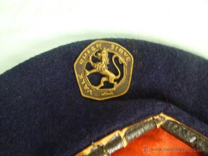 Militaria: uniforme o.j.e....camisa y boina.organizacion juvenil española... - Foto 9 - 52748013