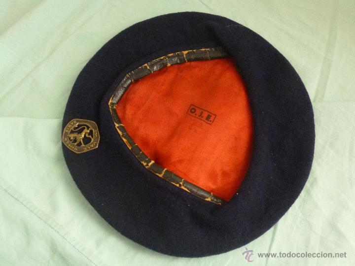 Militaria: uniforme o.j.e....camisa y boina.organizacion juvenil española... - Foto 10 - 52748013