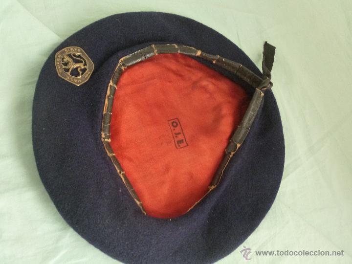 Militaria: uniforme o.j.e....camisa y boina.organizacion juvenil española... - Foto 13 - 52748013