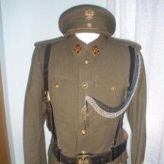 Militaria: UNIFORME DE ALFÉREZ COMPLETO. Lote 119845442