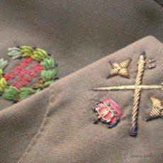 Militaria: GUERRERA DE GENERAL DE DIV. COLECTIVA DEFENSOR DEL ALCAZAR DE TOLEDO. ANGULO DE HERIDO. EST. MAYOR.. Lote 54056170