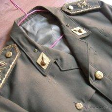 Militaria: GUERRERA SAHARIANA DE GENERAL DE ARTILLERIA. ESTADO MAYOR. ÉPOCA DE FRANCO.. Lote 54056724