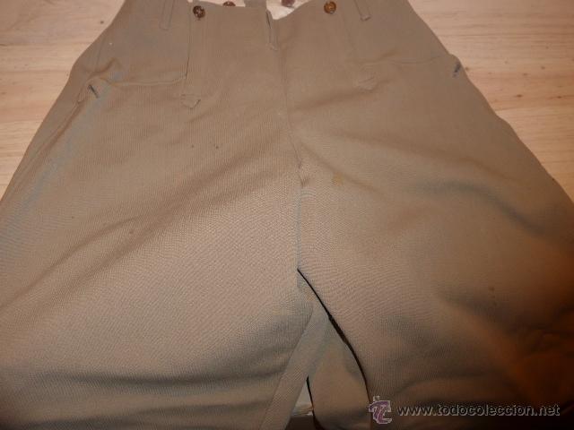 Militaria: Antiguo pantalon breches de pana, original, ejercito republicano, guerra civil. Pantalones - Foto 6 - 54444961