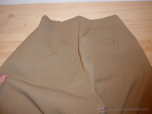 Militaria: Antiguo pantalon breches de pana, original, ejercito republicano, guerra civil. Pantalones - Foto 9 - 54444961