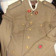 Militaria: GUERRERA COMANDANTE ARTILLERIA COLECTIVA HUESCA. Lote 57056188