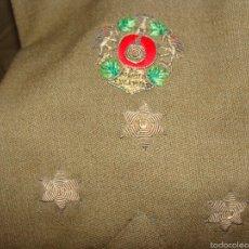 Militaria: GUERRERA CAPITAN MEDALLA COLECTIVA ARTILLERÍA. Lote 57057833