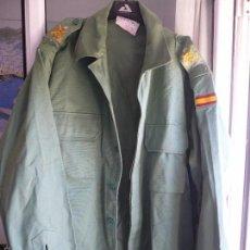 Militaria: CAMISOLA VERDE SARGA LEGIÓN ESPAÑOLA TALLA 2L. ITURRI 1998.. Lote 57484692