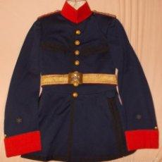Militaria: GUERRERA DE GALA ALFONSO XIII, TENIENTE 2º DE INFANTERÍA (ALFÉREZ). Lote 57533066
