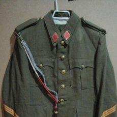 Militaria: TRAJE DE SARGENTO . CONFECCIONADO POR RUIZ MARTIN - BARCELONA. Lote 58397996