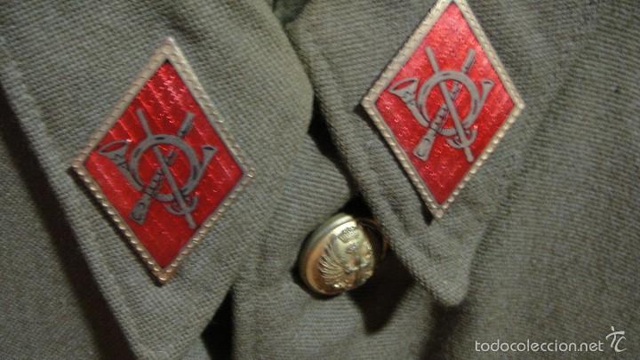 Militaria: traje de sargento . confeccionado por ruiz martin - barcelona - Foto 4 - 58397996