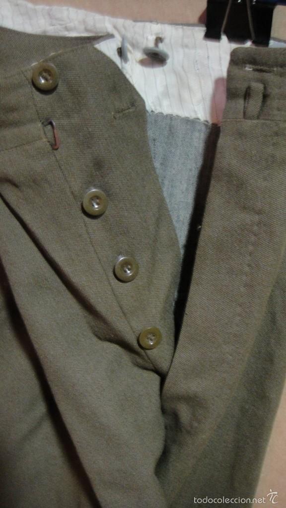 Militaria: traje de sargento . confeccionado por ruiz martin - barcelona - Foto 10 - 58397996