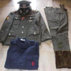 Militaria: UNIFORME DE CAPITAN DE ARTILLERIA DE LA DIVISION AZUL. Lote 59707303