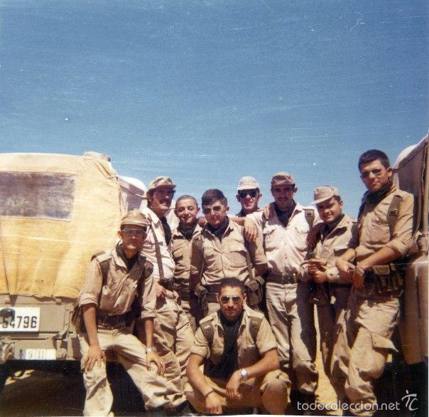 Militaria: SÁHARA, TROPAS PENINSULARES DE ATN EN VILLA CISNEROS. - Foto 8 - 98608030