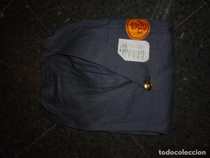 Militaria: CORREOS - ANTIGUA BATA DE CORREOS , NUEVA PARA ESTRENAR AÑOS 70/80 - Foto 2 - 61925044