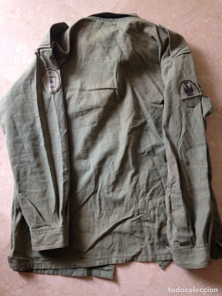 CAMISOLA BRIPAC. AÑOS 70. TALLA 48-72 (Militar - Uniformes Españoles )