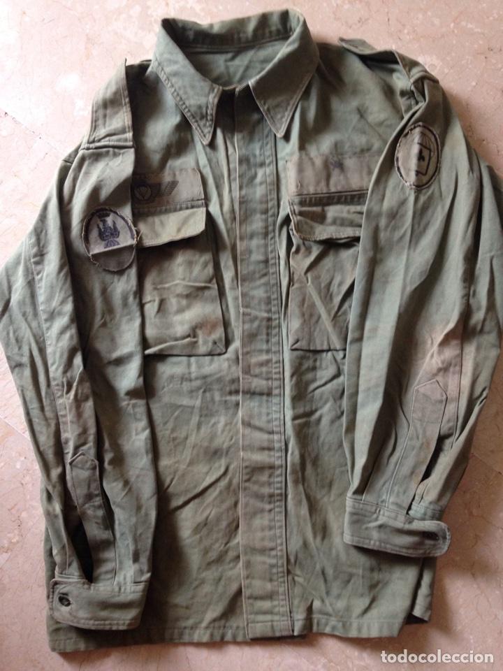 Militaria: CAMISOLA BRIPAC. Años 70. Talla 48-72 - Foto 3 - 62884755
